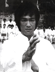 Bruce Lee in Wing Chun Ready Position