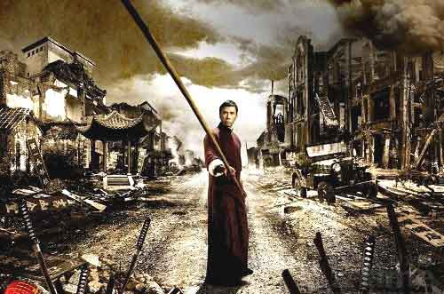 Donnie Yen as Ip Man on the Cover of the DVD