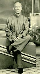 Grand Master Ip Man Seated